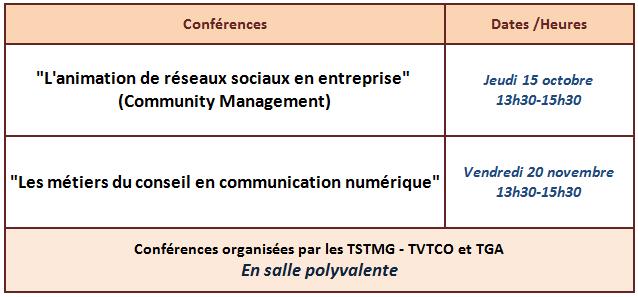 Conférence CM2015